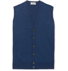 John Smedley - Stavley Slim-Fit Merino Wool Sweater Vest