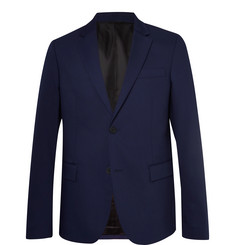 Joseph Navy Davide Slim-Fit Wool-Blend Suit Jacket