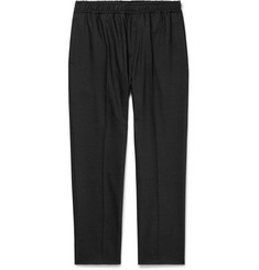 Joseph Anthracite Eugene Tapered Stretch Wool-Blend Trousers