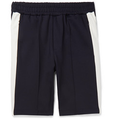 Joseph Striped Technical Stretch-Scuba Jersey Shorts
