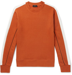 Joseph Colour-Block Loopback Cotton-Jersey Sweatshirt