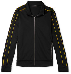 Joseph Slim-Fit Piped Tech-Jersey Track Jacket