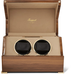 Rapport London - Perpetua III Lacquered Walnut Watch Winder