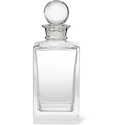 Asprey Crystal and Sterling Silver Decanter