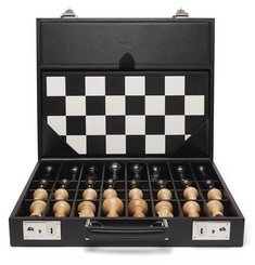 Asprey Hanover Leather Chess Case