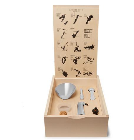 L'ATELIER DU VIN Oeno Box Connoisseur N&Deg;3 Set in Brown