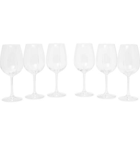 L'ATELIER DU VIN Exploreur Classic Set Of Six Wine Glasses in Clear