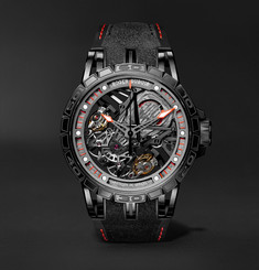 Roger Dubuis Excalibur Aventador S Limited Edition Skeleton 45mm Titanium and Rubber Watch, Ref. No. DBEX0737