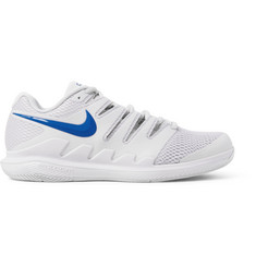 Nike Tennis - Air Zoom Vapor X Rubber and Mesh Tennis Sneakers