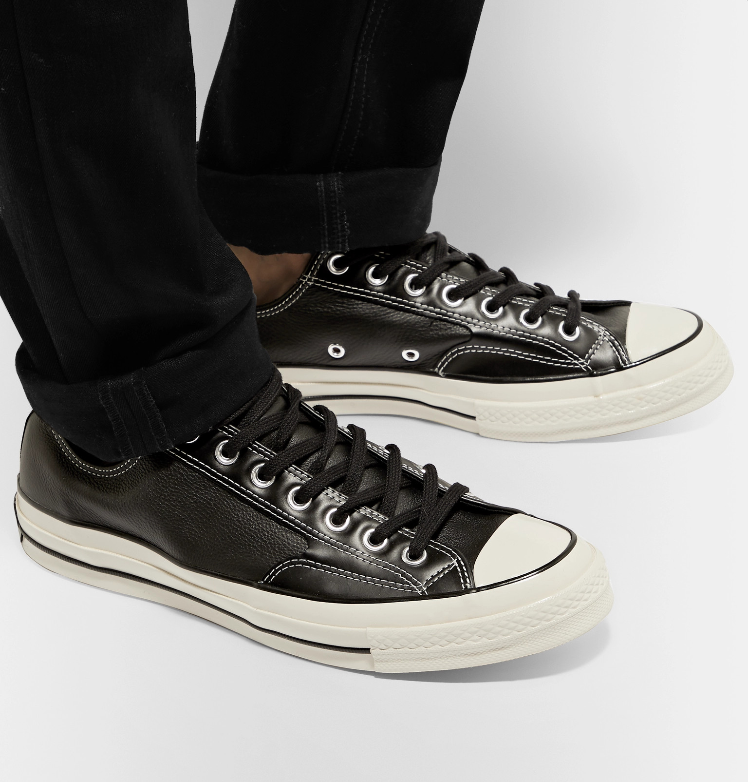 a8c90a37fe3 Converse - 1970s Chuck Taylor All Star Full-Grain Leather Sneakers