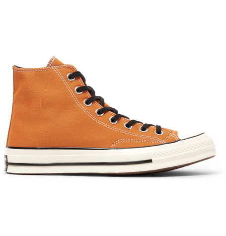 f926623f52d9ff Converse 1970S Chuck Taylor All Star Canvas High-Top Sneakers - Orange