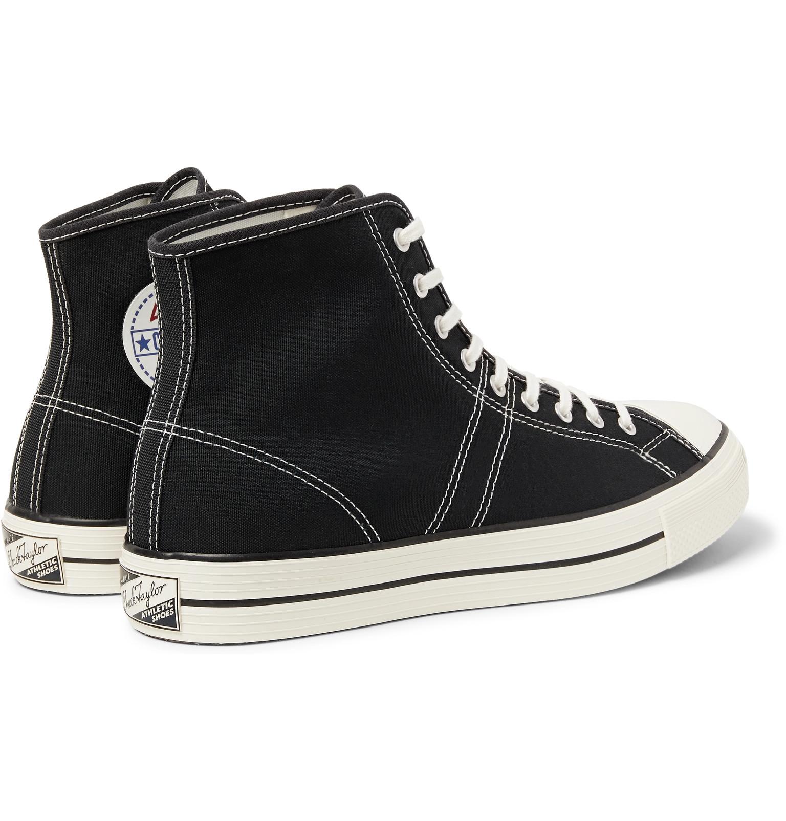 8201b658a9b Converse - Lucky Star Canvas High-Top Sneakers