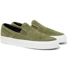 Converse - One Star CC Suede Slip-On Sneakers