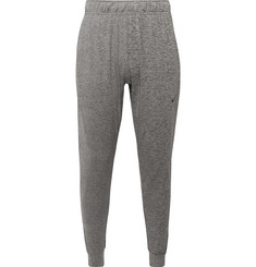 Nike Training Tapered Mélange Dri-FIT Stretch-Jersey Sweatpants
