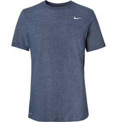 Nike Training Mélange Cotton-Blend Dri-FIT T-Shirt