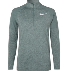 Nike Running Therma-Sphere Element Mélange Dri-FIT Half-Zip Top