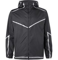Nike Running Reflective-Trimmed Shell Jacket
