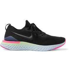 Epic React Flyknit 2 Running Sneakers - Black