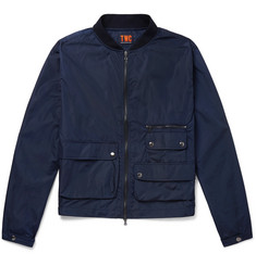The Workers Club Cotton-Shell Bomber Jacket