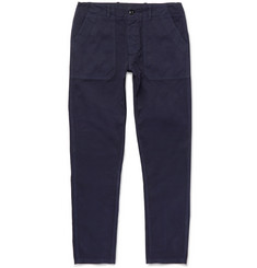 The Workers Club Slim-Fit Garment-Dyed Cotton-Twill Chinos