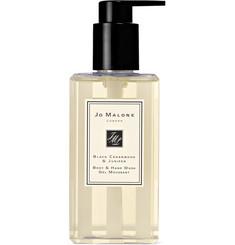 조 말론 런던 블랙 시더우드 앤 주니퍼 바디 핸드 워시 Jo Malone London Black Cedarwood & Juniper Body & Hand Wash, 250ml