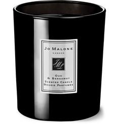 조 말론 런던 '오드 앤 베르가못 코롱 인텐스' 블랙 캔들 200g  Jo Malone London Oud & Bergamot Cologne Intense Scented Candle