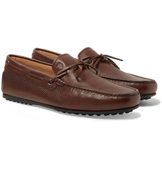Tod's - City Gommino Full-Grain Leather Driving Shoes