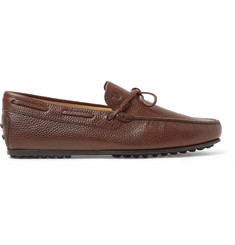 Tod's City Gommino Full-Grain Leather Driving Shoes