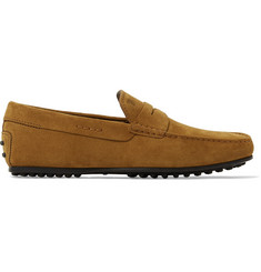 Tod's - City Gommino Suede Driving Shoes