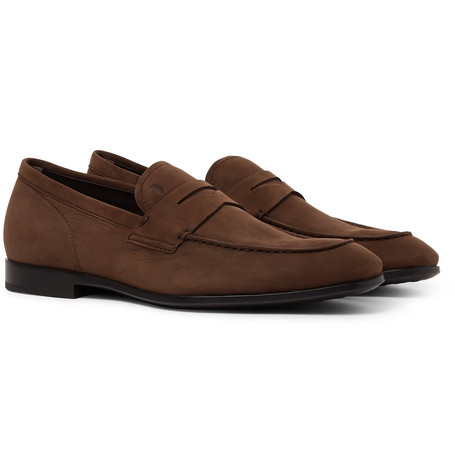 571acc0cd9f Tod s - Nubuck Penny Loafers