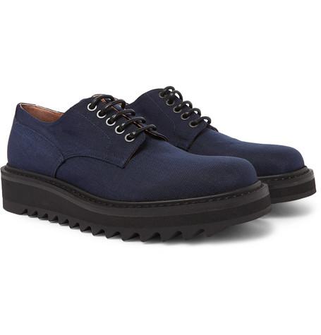 Derby Shoes Van Dries Canvas Noten R35Aq4jL