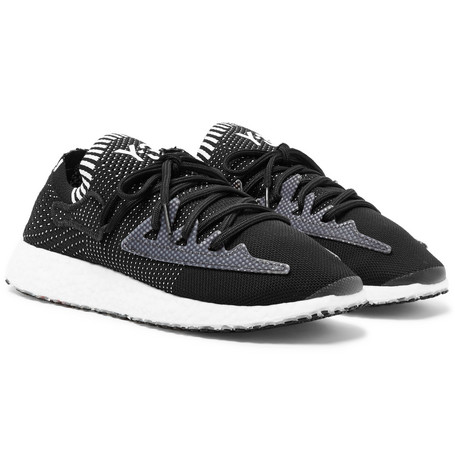 4e7dbe5846d4d Y-3 - Raito Racer Stretch-Knit Sneakers