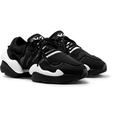 f7bab29c3253b Y-3 - Kaiwa Pod Mesh Sneakers