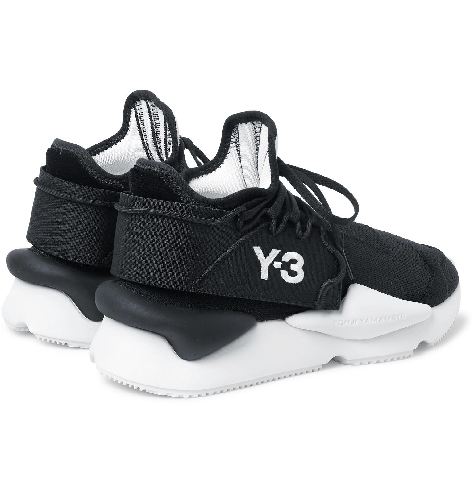 d99ef36e88e3f Y-3 - Kaiwa Mesh Sneakers