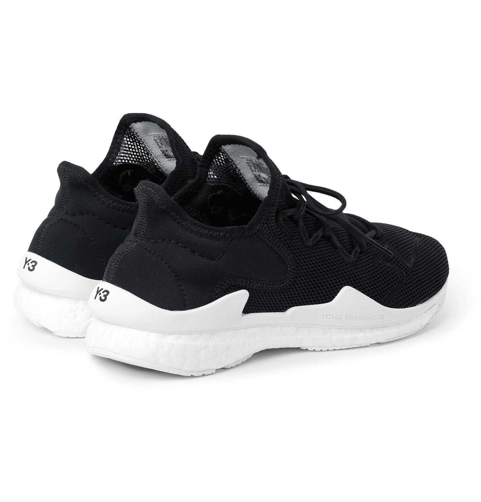 e1ea730a4 Y-3 - Adizero Runner Neoprene-Trimmed Mesh Sneakers