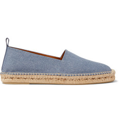 Ralph Lauren Purple Label Bowsworth Denim Espadrilles