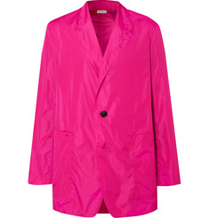 Dries Van Noten Fuchsia Unstructured Shell Blazer