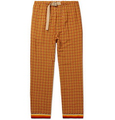 Dries Van Noten Printed Woven Trousers