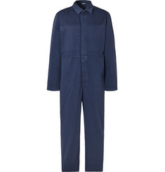 Dries Van Noten Cotton-Twill Boiler Suit