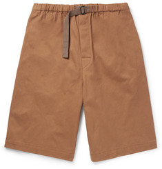 Dries Van Noten Cotton-Twill Shorts