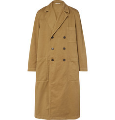 Dries Van Noten Oversized Cotton-Twill Trench Coat