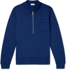 Dries Van Noten Slim-Fit Knitted Half-Zip Sweater