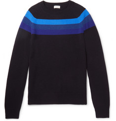Dries Van Noten Striped Merino Wool Sweater