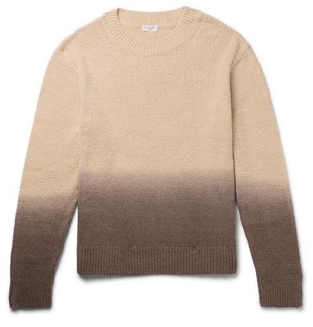 Oversized Ombré Cotton Sweater by Dries Van Noten