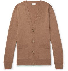 Dries Van Noten Slim-Fit Merino Wool Cardigan