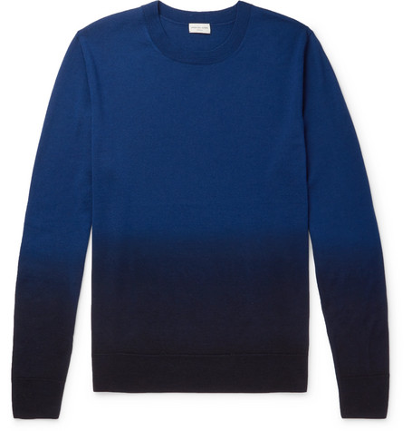Ombré Merino Wool Sweater by Dries Van Noten