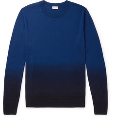 Dries Van Noten Ombré Merino Wool Sweater