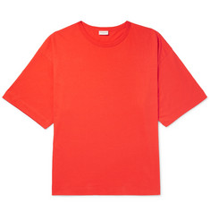 Dries Van Noten Oversized Cotton-Jersey T-Shirt