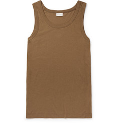 Dries Van Noten Slim-Fit Cotton Tank Top