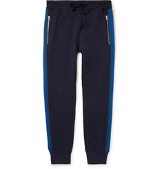 Dries Van Noten Slim-Fit Tapered Striped Loopback Cotton-Jersey Sweatpants